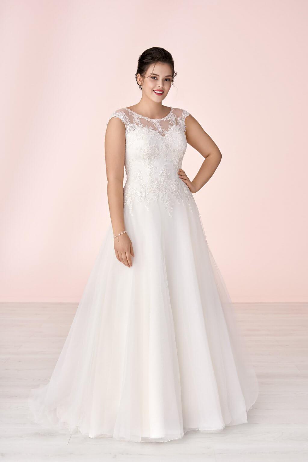 Brautkleider Plus Size - AVINIA